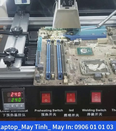 may dong va lam chan chipset