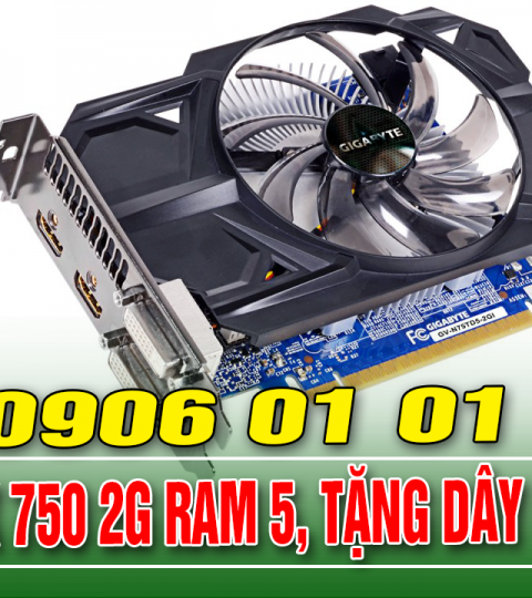 GG GTX 750 2G RAM 5