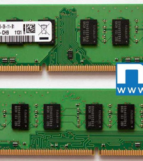 Samsung DDR3 4GB 2Rx8 PC3-10600U-09-11-B1 M378B5273DH0-CH9 1131